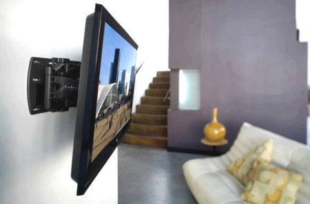 телевизор крепление стена