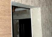 Дверной проем из гипсокартона: процесс монтажа