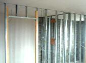 Гипсокартонная перегородка с дверью: этапы строительства и пошаговая последовательность действий