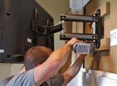 Телевизор на гипсокартонную стену: процесс крепления и выбор кронштейна