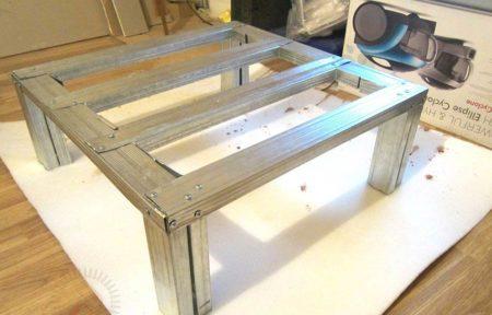 Журнальный столик из гипсокартона