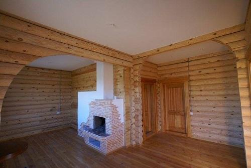 гипсокартонный потолок в деревянном доме