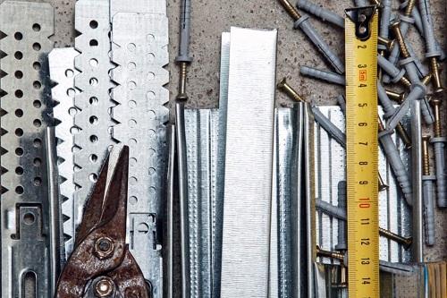 инструменты и материалы для короба