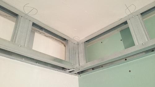 короб для натяжного потолка