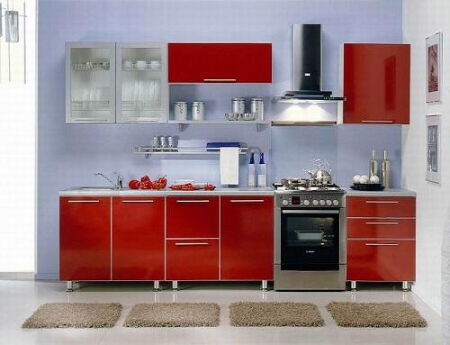 кухонный шкаф на стене