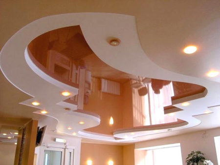 потолок зал