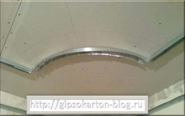 Сборка второго яруса на гипсокартонном потолке