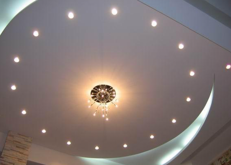 Точечные светильники как дополнительное освещение