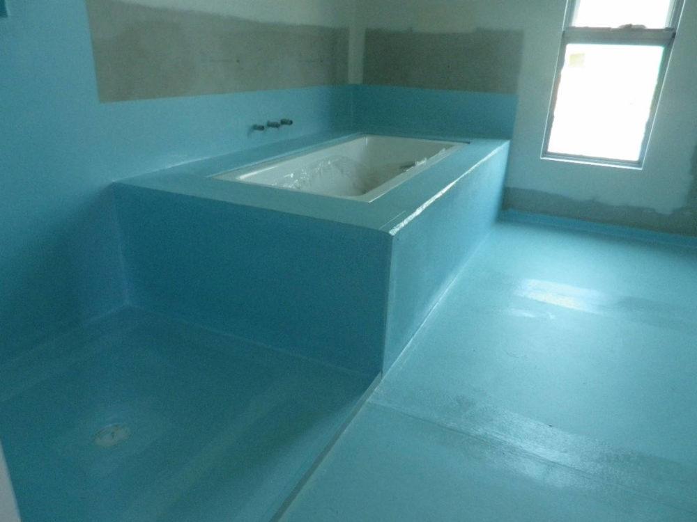 Гидроизоляция гипсокартона в ванной