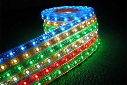 Определённый спектр излучения света светодиодами