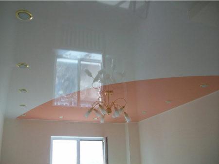диагональный потолок