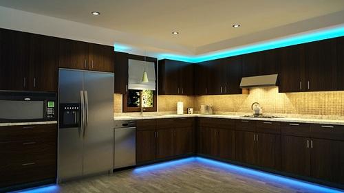 Дизайн помещения с светодиодной лентой