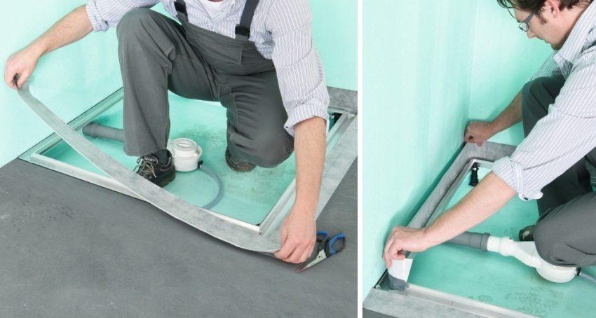Гидроизоляционная лента под плитку на гипсокартон