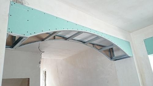каркас для гипсокартонной арки