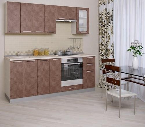 кухня с гипсокартонными стенами