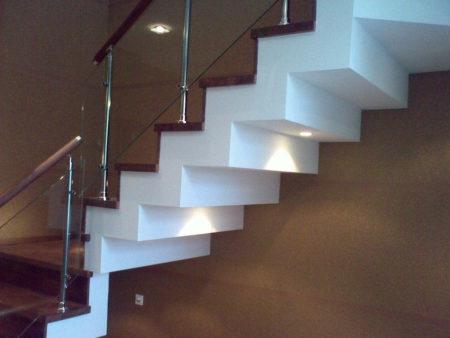 гипсокартон лестница