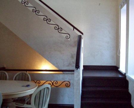 ограждение лестница гипсокартон