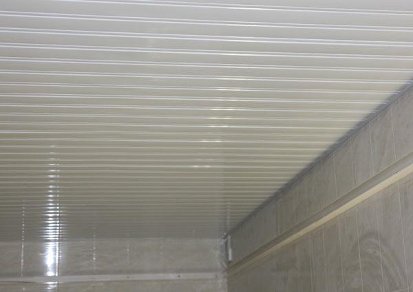 отделка потолок панели
