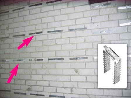 подвесы стена
