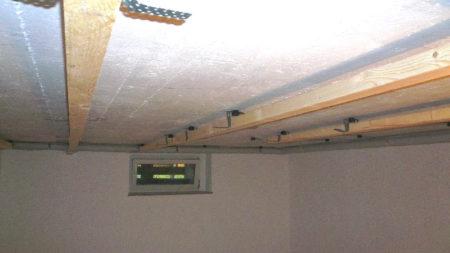потолок крепление подвесы