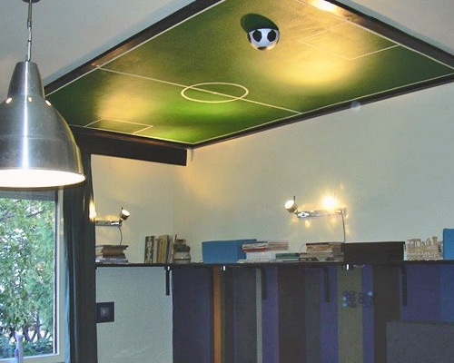 потолок из гипсокартона для мальчика
