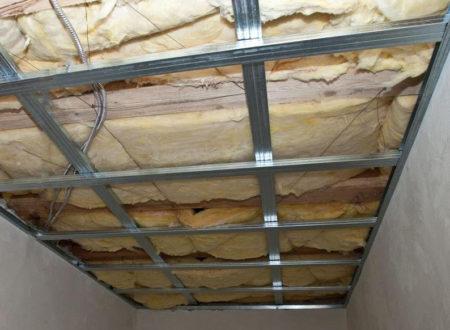 металлический каркас потолок