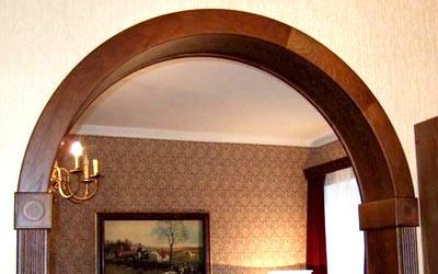 арка шпон