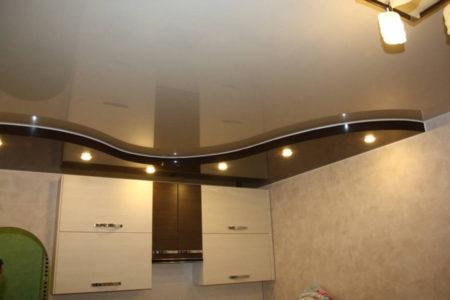 Использование светильников на кухне