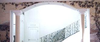 Варианты оформления арок из гипсокартона для зала и процесс монтажа конструкции