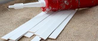 Крепление пластиковых панелей на гипсокартон