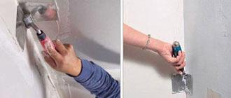 Шпаклевка внутренних и внешних углов гипсокартона