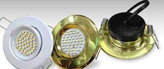 Монтаж точечных осветительных приборов в конструкцию из гипсокартона