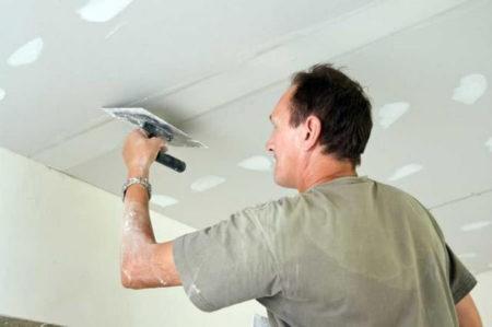 трещины  потолок