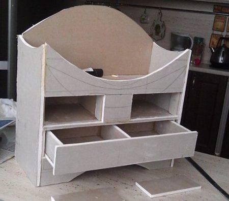 мебель гипсокартон