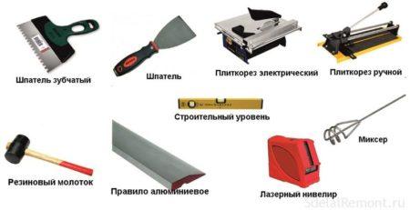 материалы инструменты
