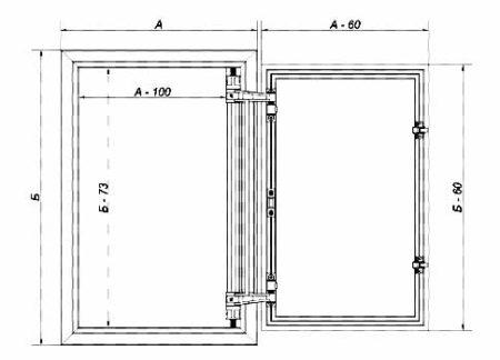 схема ревизионный люк