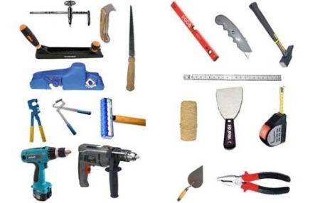 Инструменты гипсокартон