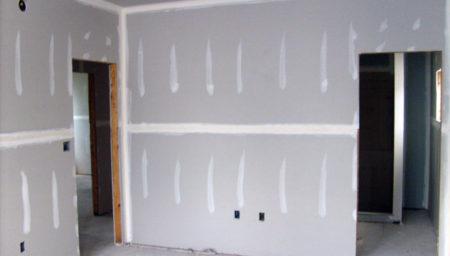 стены с гипсокартона