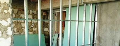 Межкомнатные стены из гипсокартона