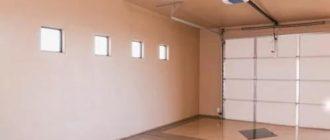 Обшивка стен и потолка в гараже гипсокартонными листами