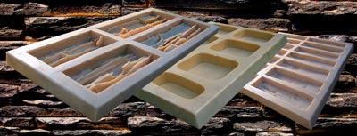 Как сделать гипсовую плитку своими руками