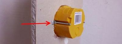 Виды установочных коробок и монтаж их в гипоскартон