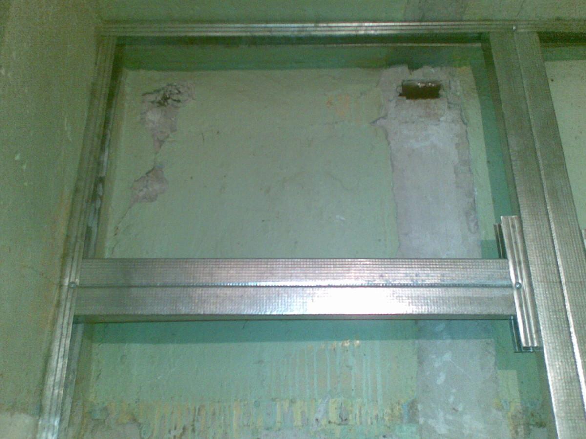 каркас для стены из гипсокартона