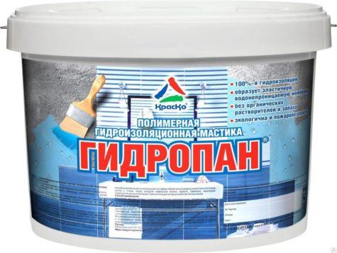 полимерная гидроизоляционная мастика