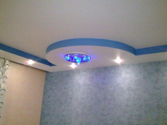 второй уровень потолок
