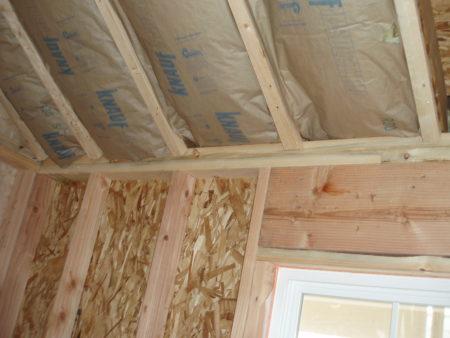 пароизоляция деревянного дома