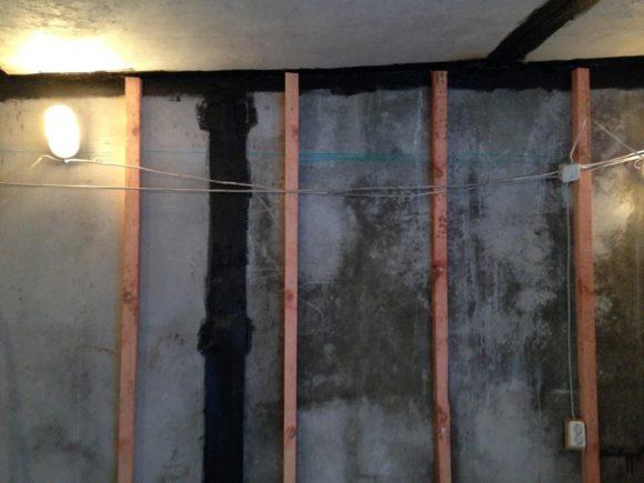 мастика стена обрешетка