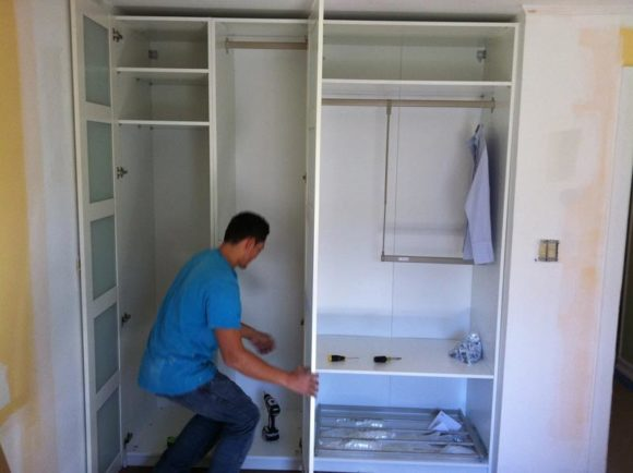 обшивка шкафа
