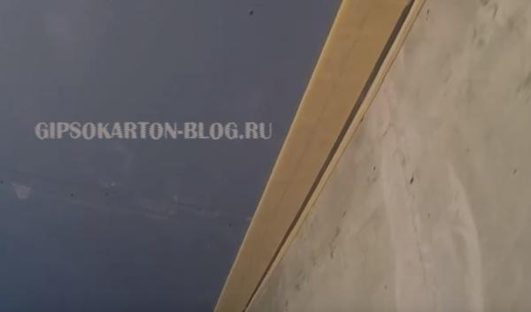 уплотнительная лента на потолке