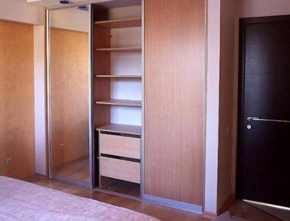 отделка шкаф гипсокартон